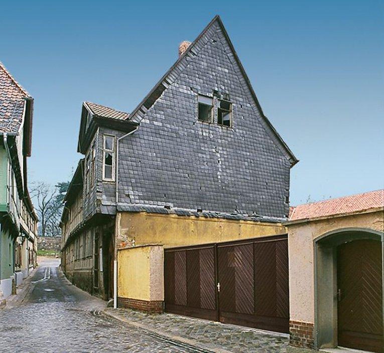 Haus Weingarten: In Quedlinburg Sind Denkmalschutz Und Behindertengerechtes