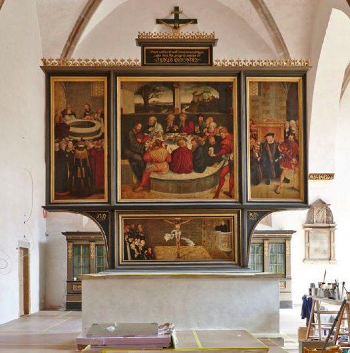 Reformationsaltar Wittenberg