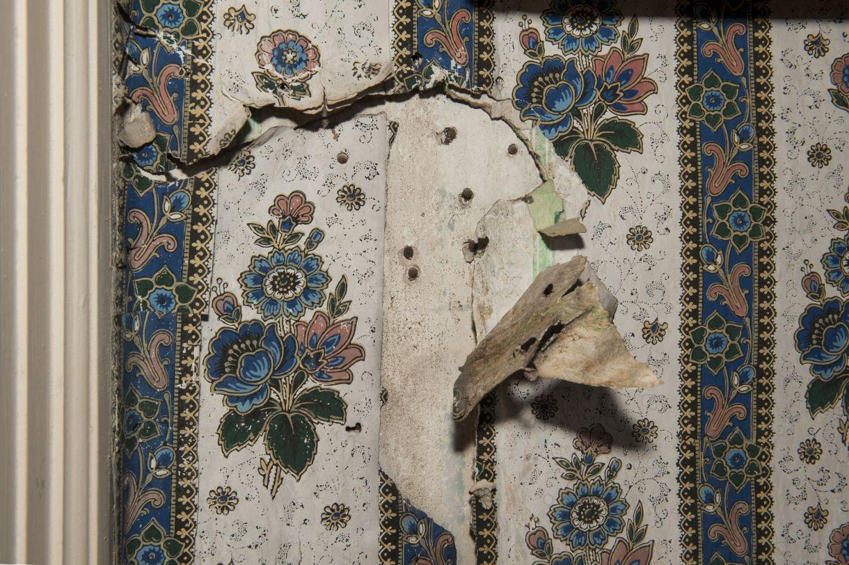 Historische Tapeten Restaurierung : Nicht alle Originaltapeten werden gerettet werden k?nnen. Dennoch