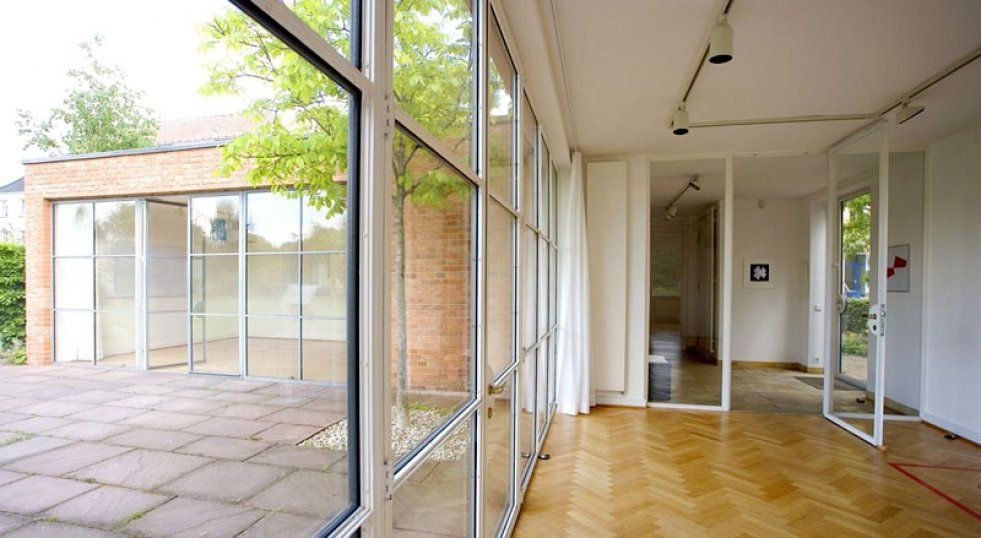 Das Mies Van Der Rohe Haus In Berlin Monumente Online