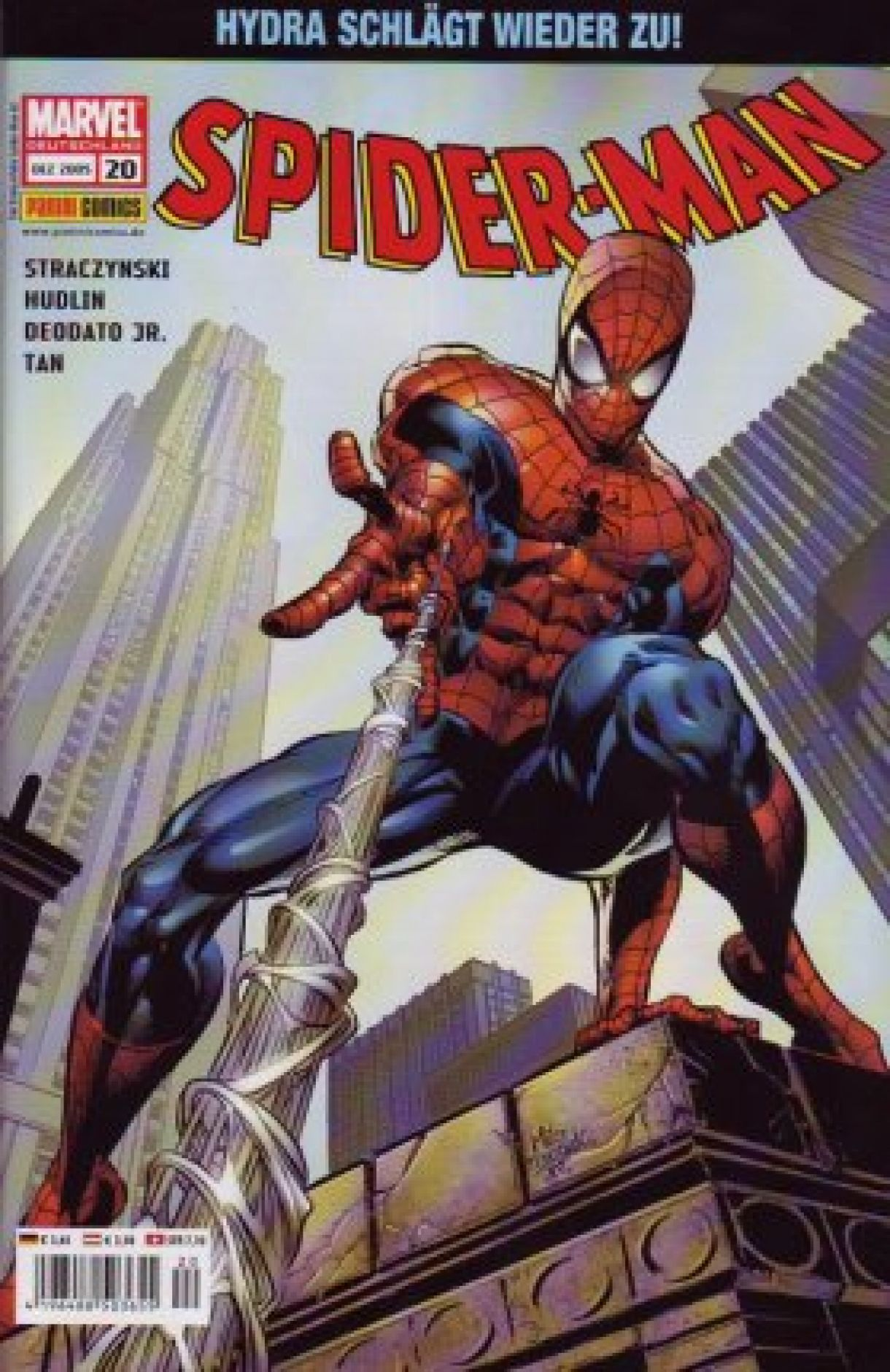 Spiderman © Panini Comics