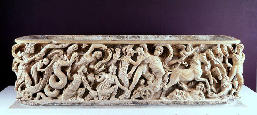 der antike proserpina sarkophag wird zu den stcken gezhlt die karl aus italien herbeischaffen - Karl Der Grose Lebenslauf
