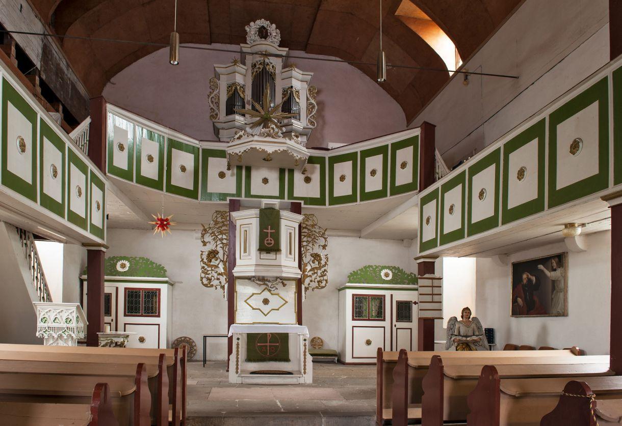 Interieur barock  Die barocke Dorfkirche von Catharinau braucht Ihre Hilfe ...
