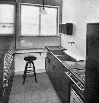 Frankfurter Küche © Aus: Innenräume, Stuttgart 1928